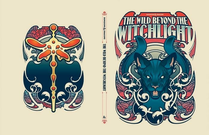 The Wild Beyond The Witchlight: A Feywild Adventure variant cover