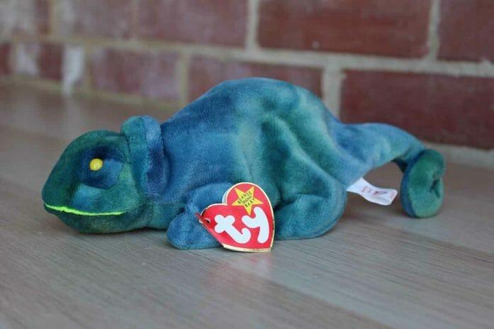 Rainbow the Chameleon Beanie Baby worth $50,000