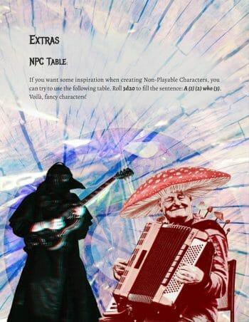 Marvelous Mutations & Merry Musicians NPCs