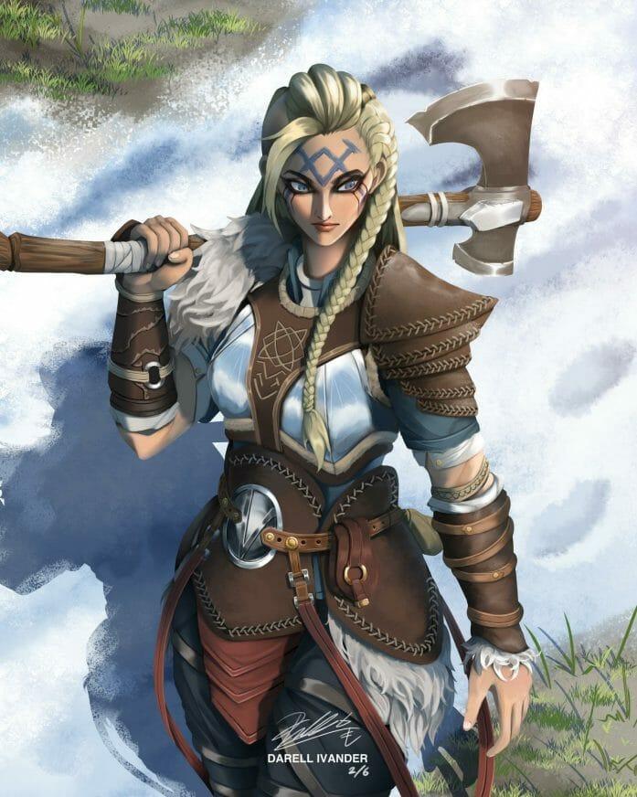 Hilda THE Viking Warrior