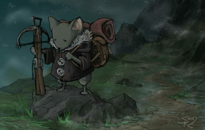 Mouse Adventurer by Halycon450
