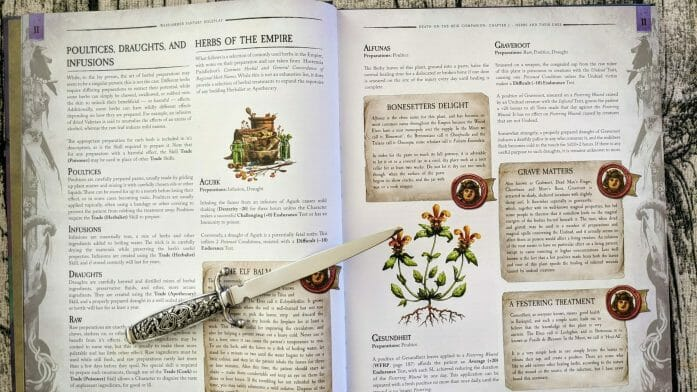 Death on the Reik - Herbs and Their Uses