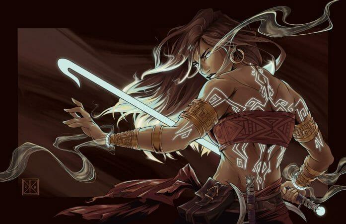 Celestial Warrior by OhHeyItsKaylaK.