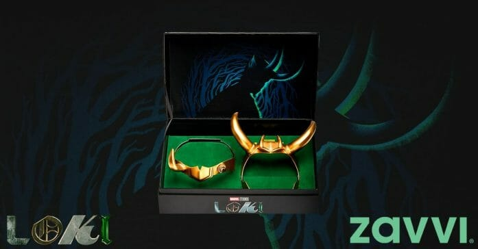 Loki replica helmet