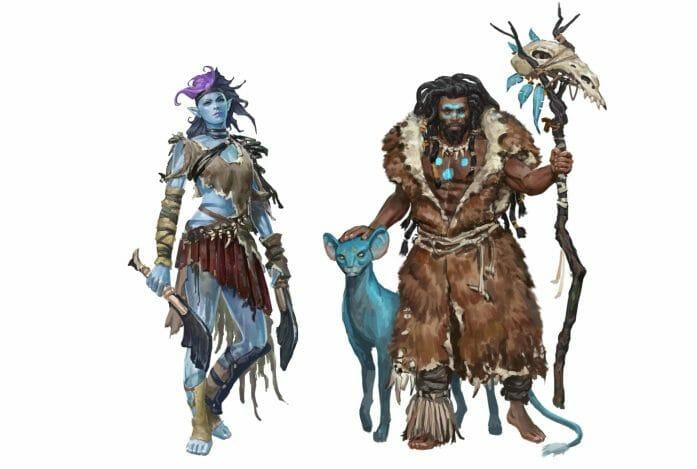 Planegea characters