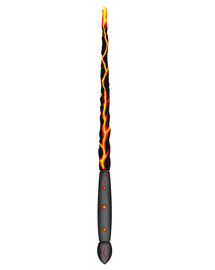 Wand of the Unstable Flame