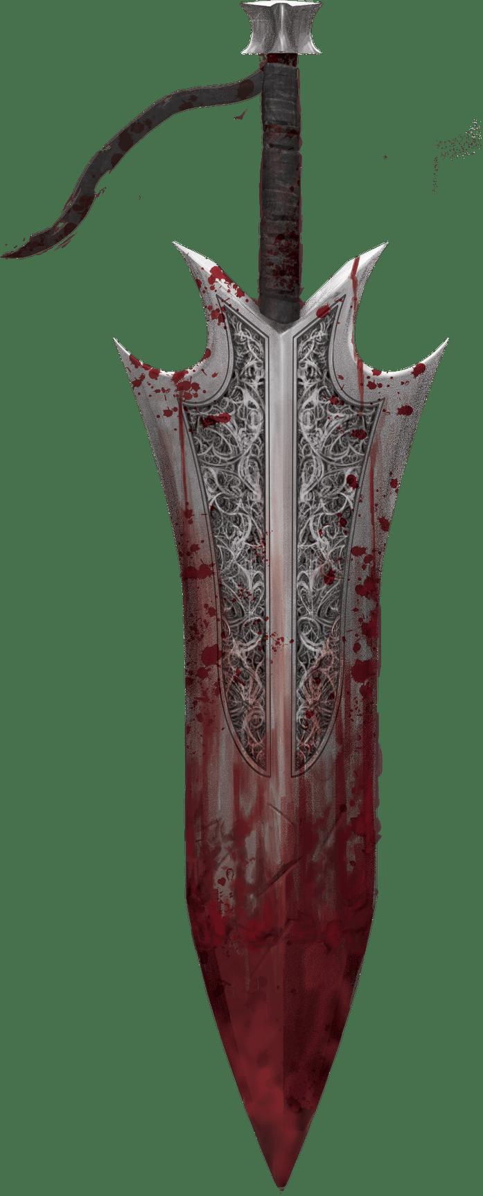 Blood Sword art by Mirko Mastrocinque