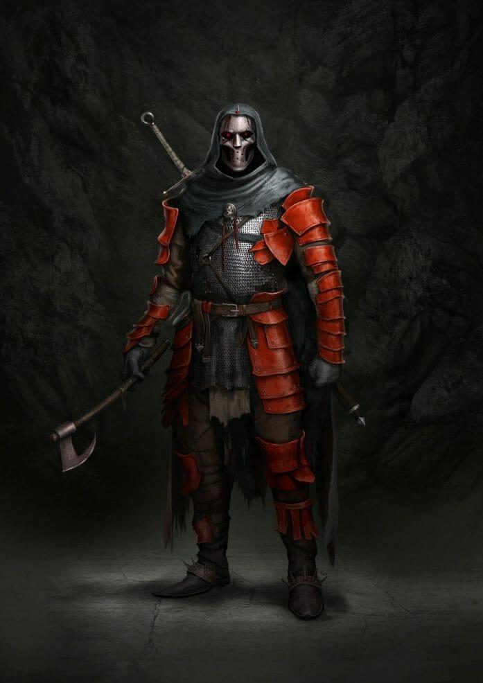 Blood Sword art by Eyrk Szczygiel
