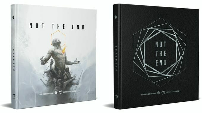 Not The End standard and deluxe