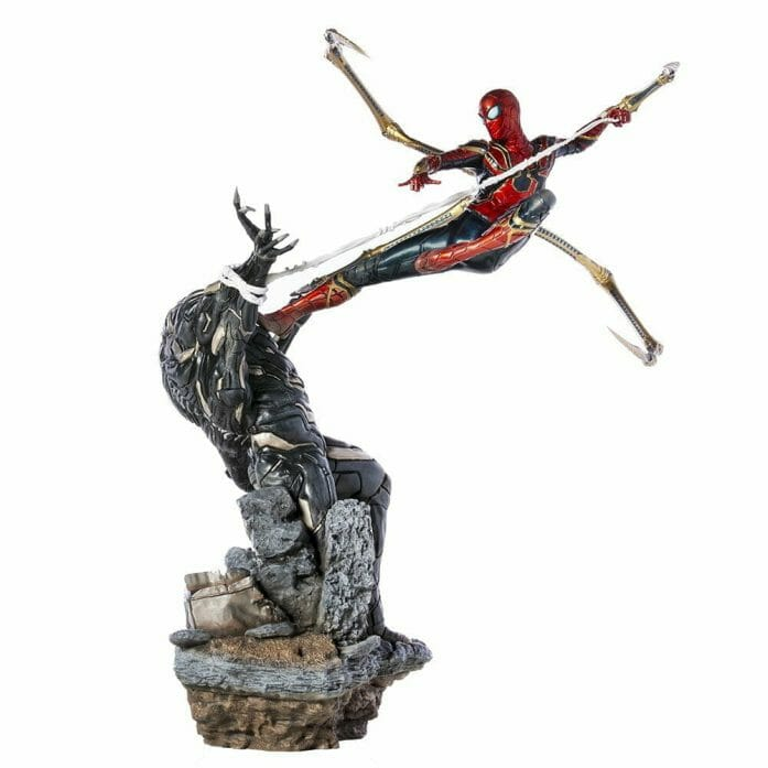 Iron Spider Vs Outrider BDS Art Scale 1/10