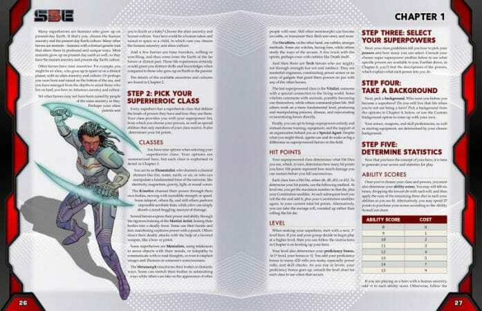 S5E - Superheroic 5e RPG