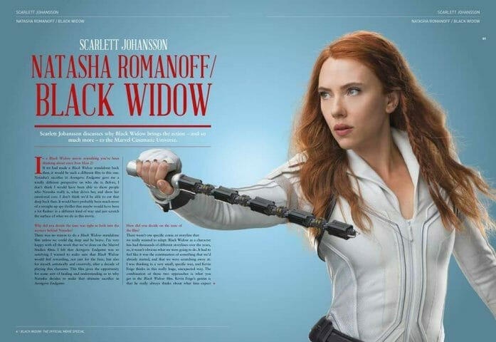 Marvel Studio's Black Widow - The Official Movie Special Book