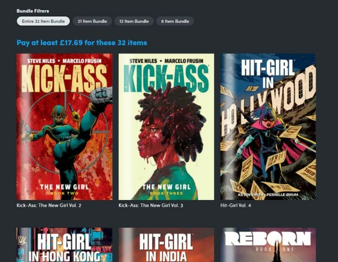 Millearworld and Netflix Comics