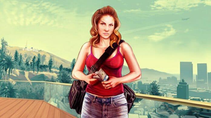 Rule 63: Michelle De Santa from GTA V