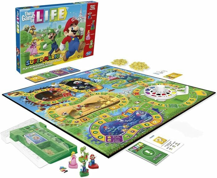 Mario edition of the Game of Life