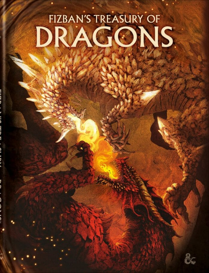 Fizban's Treasury of Dragons alternative cover