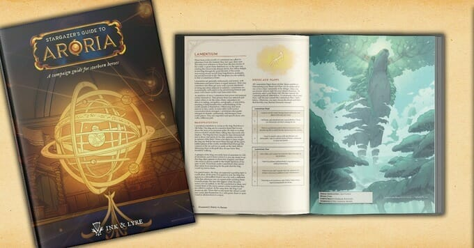 Stargazer's Guide to Aroria: A 5e character generation system based on the Zodiac