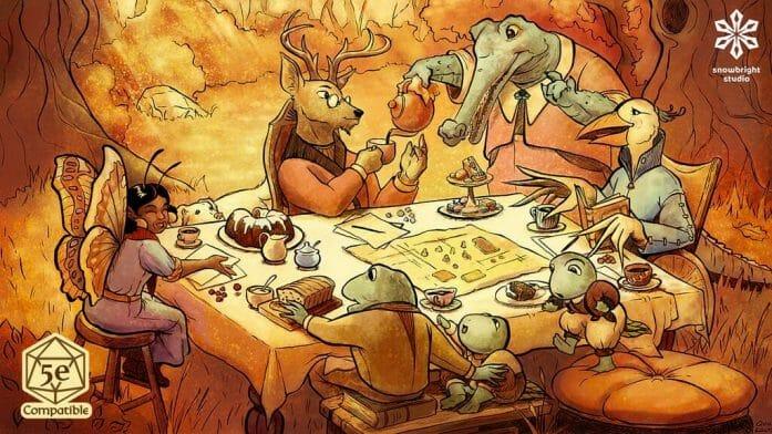 Verdant Isles: Teatime Adventures