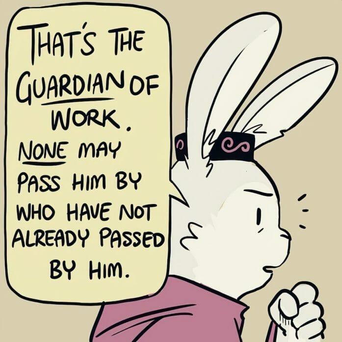 If job hunting was like an RPG adventure