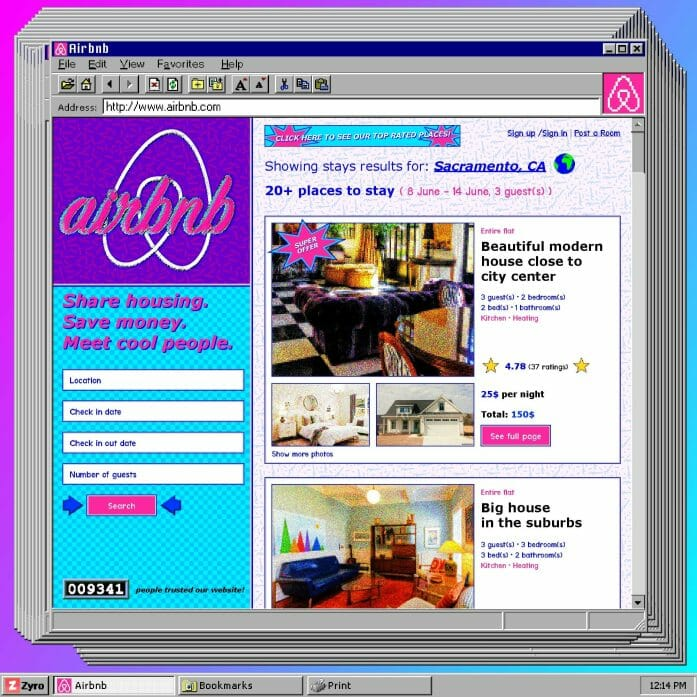 90s Airbnb