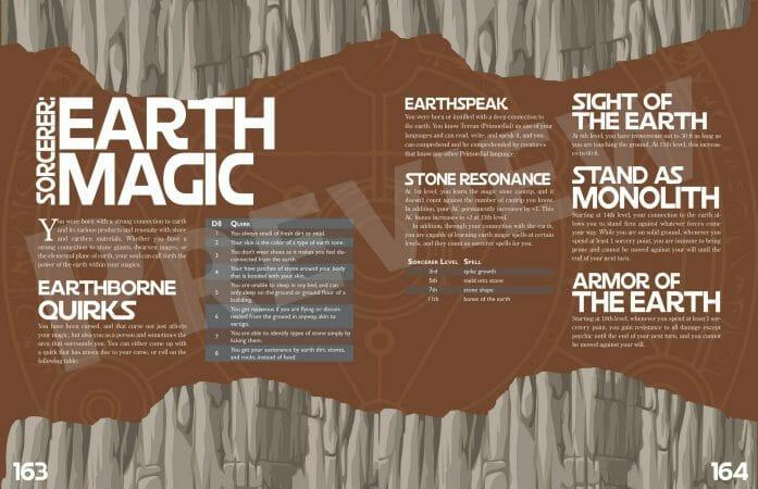 A Book of Many Heroes - Earth Magic