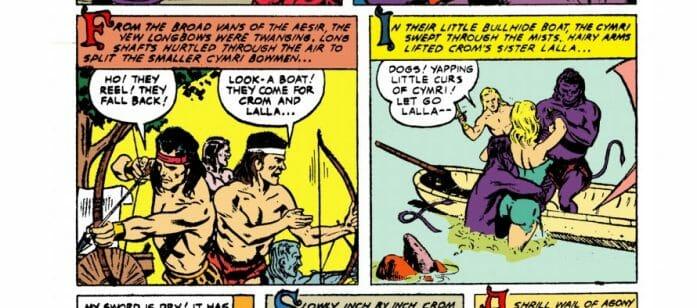 Crom comic book