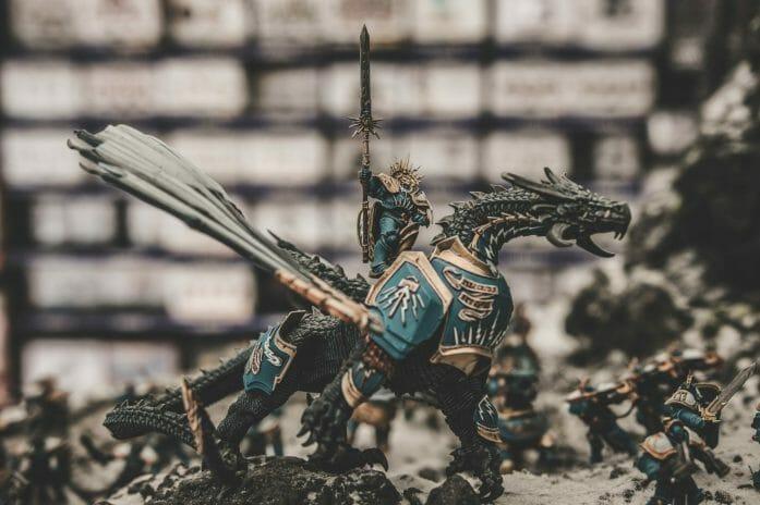 Warhammer model