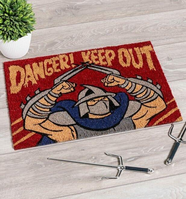 The Shredder doormat