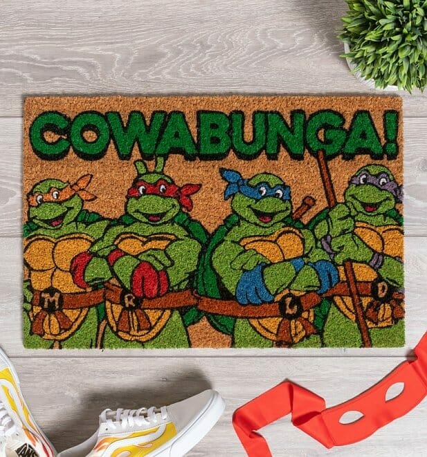 Cowbunga! doormat