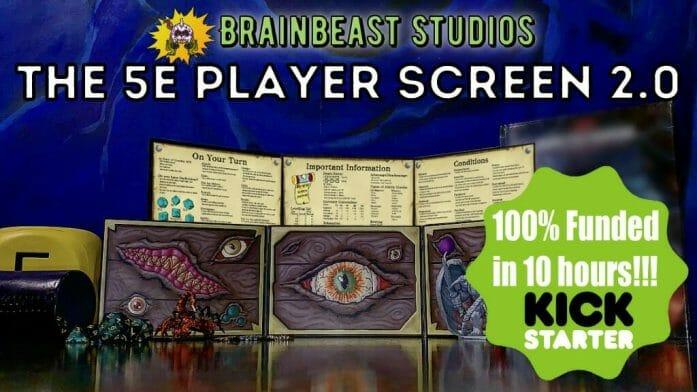 Brainbeast Studio's 5e Player Screen