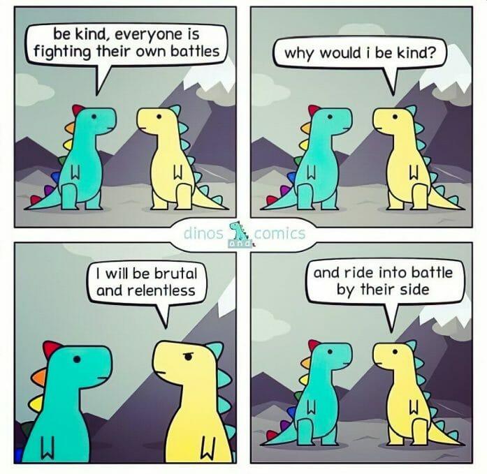 Dinos and Comics