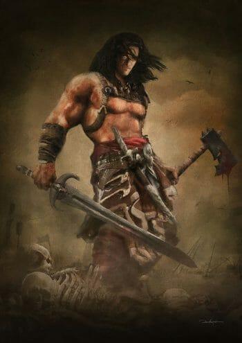 Conan The Barbarian by Dvazart
