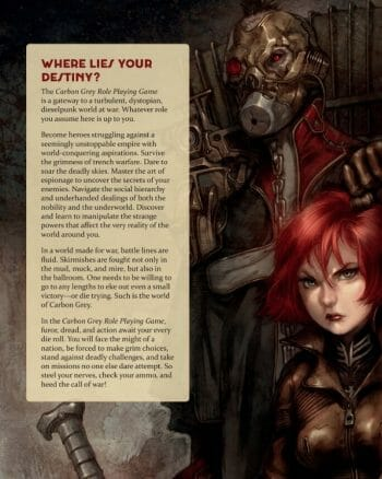 Carbon Grey RPG sample