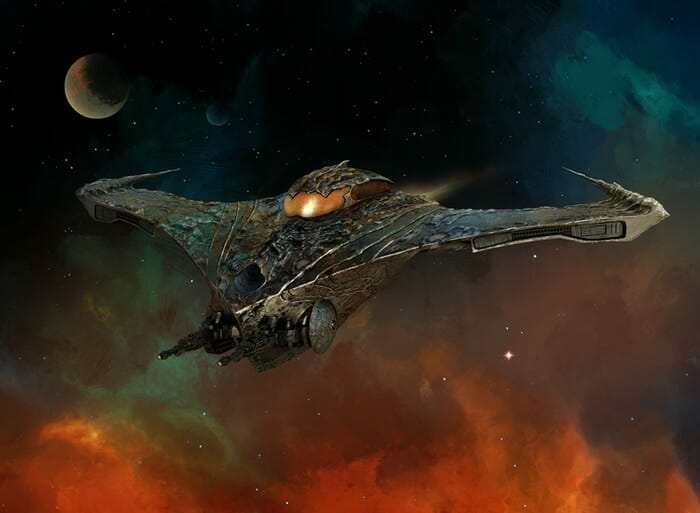 Grimmerspace ship
