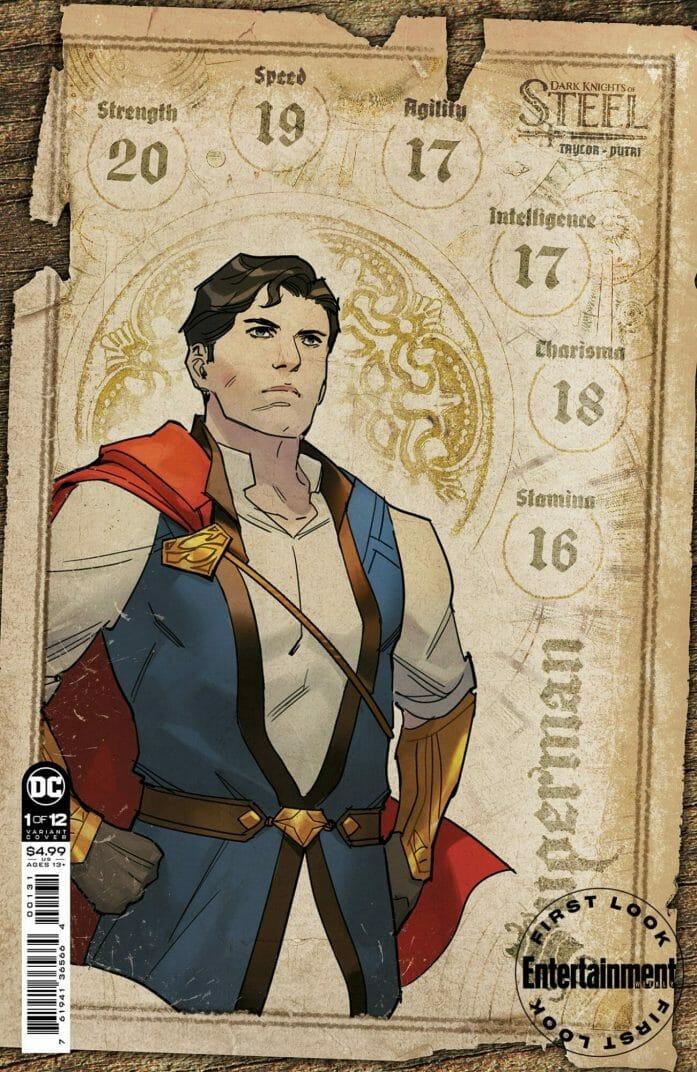 Dark Knights of Steel superman character sheet