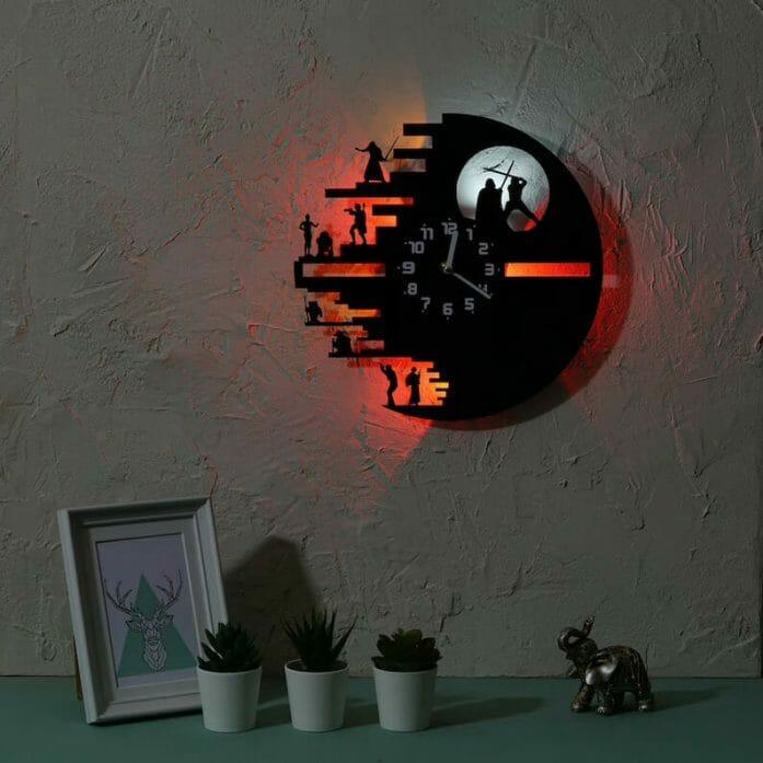 Death Star battle clock