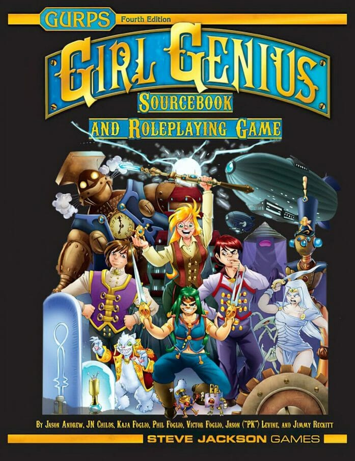 Girl Genius Sourcebook and Roleplaying Game