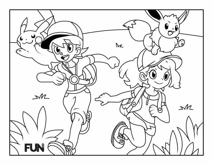 Colour in Pokemon