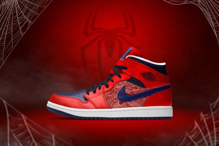 """The Spiderverse"" - Spider-man x Air Jordan 1s"