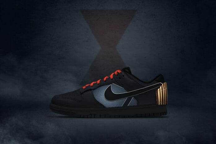 """The Romanov's"" - Black Widow x Nike Dunks"