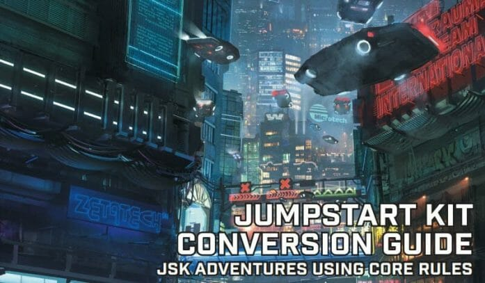 Cyberpunk RED Jumpstart Conversion Guide