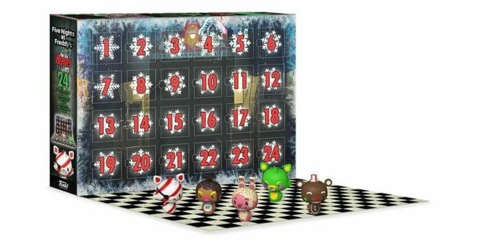 Five Nights At Freddy's advent calendar