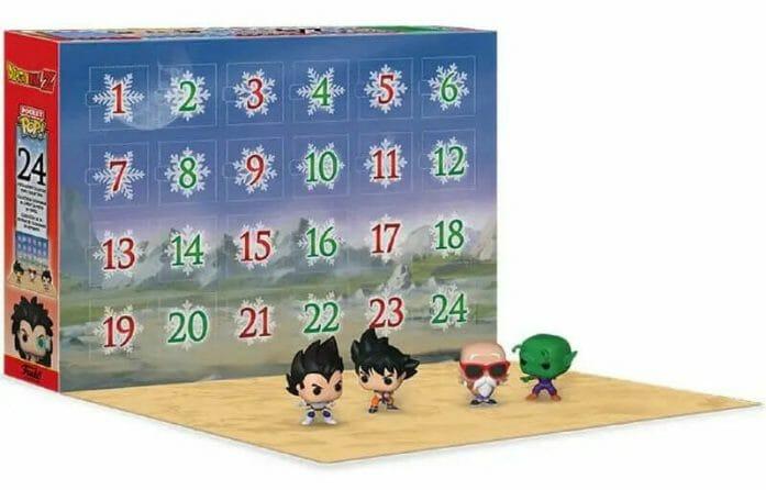 Dragon Ball Z advent calendar