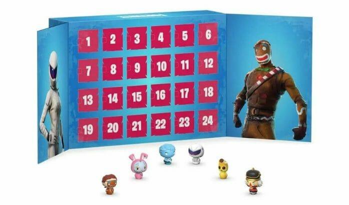 Fortnite Pint Sized Heroes advent calendar
