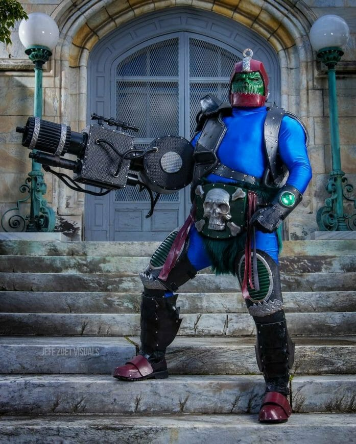 Trap Jaw cosplay