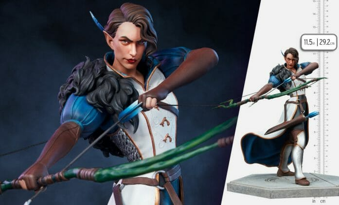 Limited edition Vex statue