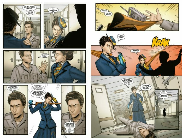 A review of Doctor Who's Missy comic book