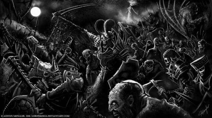 March of the Dead by Austen Mengler