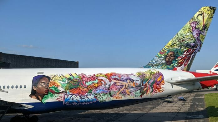 Spirit Warrior plane