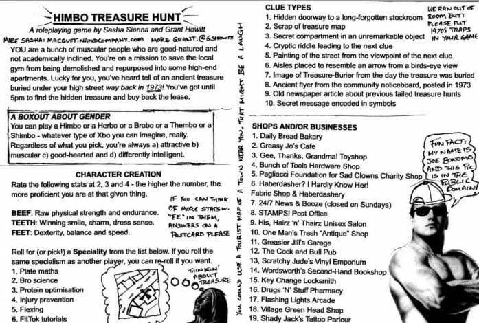 Himbo Treasure Hunt